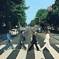 Обложка альбома «Abbey Road» (The Beatles, 1969)