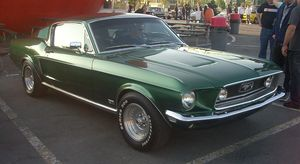 Ford Mustang I (1967-1968)