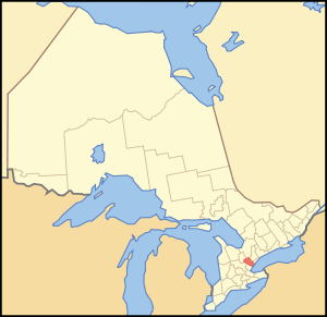 Map of Ontario PEEL.svg