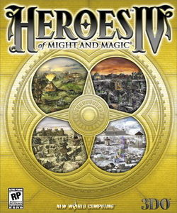 Обложка для Heroes of Might and Magic IV