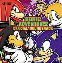 Обложка альбома «Sonic Adventure 2 Official Soundtrack» (2002)