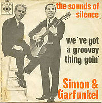 Обложка сингла «The Sound of Silence» (Simon and Garfunkel, 1965)