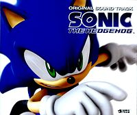 Обложка альбома «Sonic the Hedgehog Original Soundtrack» (2007)